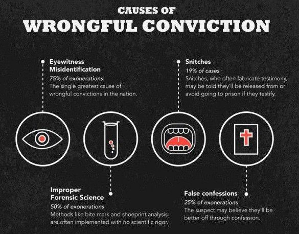 the different causes of wrongful convictions (2015) 17 flinders law journal a repository of wrongful convictions in australia: first steps toward estimating prevalence and causal contributing factors rachel dioso-villa.